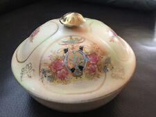 Crown Devon Fieldings Wick Pattern Lidded Trinket Soap Dish With Inner Lovely