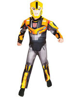 Bumblebee Fusion Transformers Boys Costume