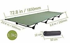 Camping cots, Outdoor Bed Ultra Lightweight Bed Portable cot Free Storage Bag In