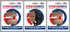 Honda CBR 900 RR, Fireblade 94-95 Front & Rear Brake Pads Full Set (3 Pairs)