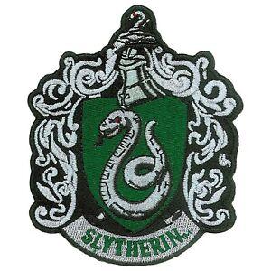 Harry Potter Slytherin Iron On Patch Green