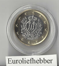 San Marino   OFFICIAL UNCIRCULATED   1 EURO   COIN    2009