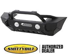 Smittybilt XRC GEN2 Max Front Stubby Bumper 07-17 Jeep Wrangler JK 76807 Black