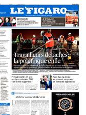 Le Figaro 16.3.2017 N°22581*Travailleurs détachés*PAYS-BAS la droite l'emporte