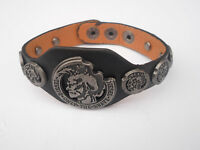 New Jewellery Diesel Leather Bracelet Urban Black