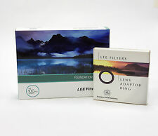 Lee Filtres Foundation Support Kit + 82 mm Standard Adaptateur Ring. Neuf