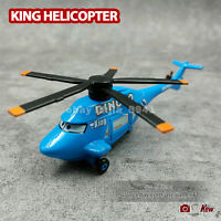 Disney Pixar Cars Dinoco King Helicopter 1:55 Metal Die-Cast Toy Loose in stock
