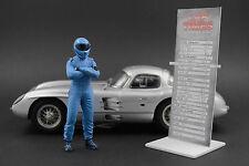 Grabber Blue LIMIT Figur für 1:18 CMC Mercedes The STIG 2