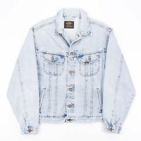 Vintage LEE Riders Blue 90s Cotton Casual Denim Jacket Mens L