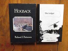 "2-RALAND J. PATTERSON Signed Books(""HOGBACK/THE LEDGER""-First Edition Hardbacks)"