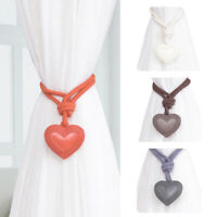 Stylish Heart Window Curtain Tie Rope Tieback Holder Bedroom Home Decoration Hot