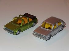 (K) siku LOT OF 2 VW VOLKSWAGEN GOLF - 1033 / 1039