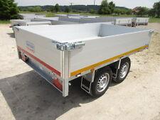 Neu 2000 kg Heckkipper Tandem Anhänger 256 x150 x40cm Alu BW ! EDUARD - GRIESER