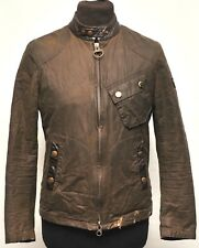 BARBOUR INTERNATIONAL nazionalismo Steve McQueen Collection Cera Cotone Small Verde