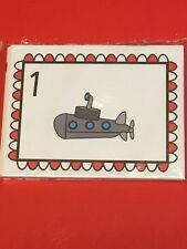 Preschool Learning Fun with Counting - FUN WITH LEARNING FLASH CARDS