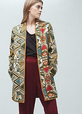 Mango Embroidered Jacket Size S Box46 27 D