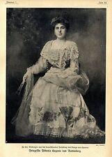 Prinzessin Viktoria Eugenie von Battenberg c.1906