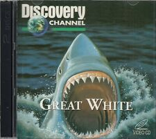 Great White Discovery Channel 2 VCD Video CD Documentary Sharks FASTPOST