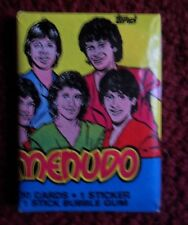 Unopened Pack MENUDO Latin Boy Band Music Trading Cards ~ Ricky Martin