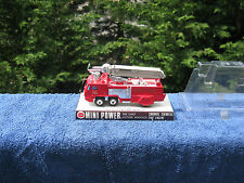 Vintage Shinsei Mini Power Snorkel Chemical Fire Engine #4109 Made In Japan~New