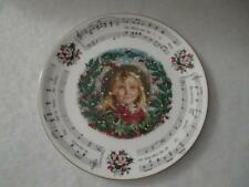 Signed Royal Doulton Christmas Carols The Holly and The Ivy Collector Plate Mint