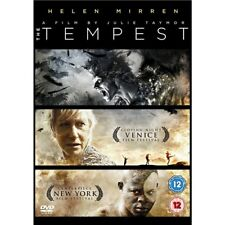 The Tempest (Helen Mirren Tom Conti Russell Brand) Region 4 New DVD