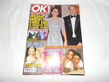 OK! Magazine Issue 1076 March 28th 2017 William and Kate Middleton Paris Holiday