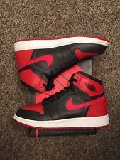 Nike Air Jordan 1 Retro I High OG Banned 2016 Bred Black Red Size 6.5