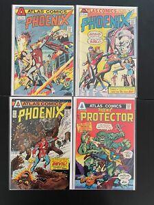 Phoenix 1 2 3 4 High Grade Atlas Comics Lot Set Run D32-160