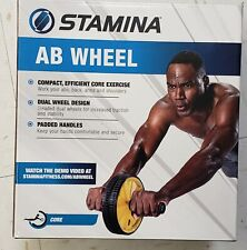 Stamina Ab Wheel Roller Exercise Crunch Workout Fitness Training Core