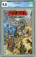 DCeased Unkillables #1 CGC 9.8 1st First Print Edition Cover 2020 Howard Porter