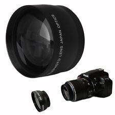 52mm High Speed 2x Telephoto Lens for Nikon AF-S DX Nikkor 18-55mm,AF-S 55-200mm
