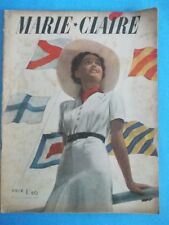 Marie-Claire n° 22 du 30 Juillet 1937