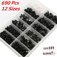 690pcs Car Body Push Pin Rivet Trim Panel Fastener Clip Moulding Assortments Kit