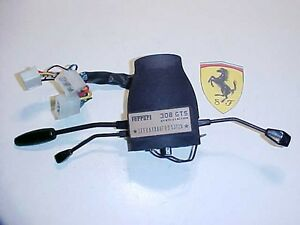 Ferrari 308 Wiper Turn Signal Lamp Light Stalk Switch_Steering Column Housing OE