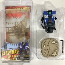 NECA Borderlands Claptrap Blue AKA: CL4P-TP Model: BLU14 Figure in Open Box