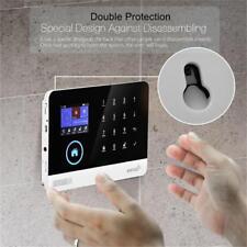 433MHz Wireless 2G GSM 3G WIFI DIY Smart Home Security Alarm Systems Kit LOT MU