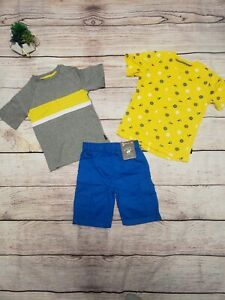NEW!!! Boys Beverly Hills Polo Club 3Pc. sailing set (Lot KK)