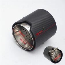 63MM IN 93MM OUT Matte Exhaust tip For BMW M2 F87 M3 F80 M4 F82 F83 M5 F10 M6