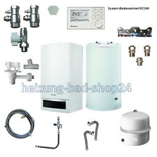 Buderus GAS VAILLANT dispositivo Logamax plus GB 172 20kw con memoria 120 rc310 w22