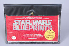 Vintage Star Wars  BLUE PRINTS Return Of The Jedi Vehicles  First Edition #q