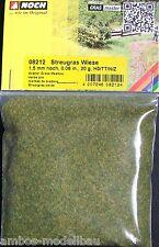 (€ 11,25 100g) ancora 08212, diffuso erba prato, 1,5 mm alta, 20 G bustina, NUOVO