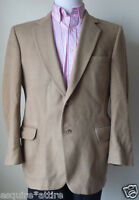 KOSINS Men SIze 40S Camel Hair Cashmere Sport Jacket Two Buttons