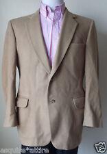 Cashmere blend men sport coat size 40S by Kosians