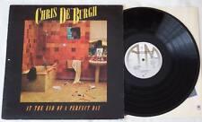 CHRIS DE BURGH At The End Of A Perfect Day LP Vinyl A&M Records 1977 Rock * TOP