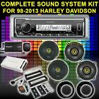 FOR HARLEY TOURING BAGGER SOUND SYSTEM AMP SIRIUSXM KICKER 6.5