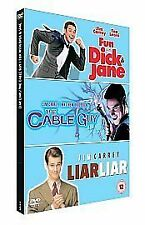 Fun With Dick And Jane/ Liar Liar/The Cable Guy (DVD, 2007, 3-Disc Set, Box Set)