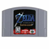 The Legend of Zelda Ocarina of Time Master Quest for Nintendo N64 Video Game US