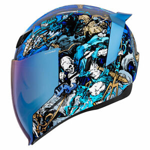 Icon Motorsports Airflite Motorcycle Full Face Helmet 4 Horsemen