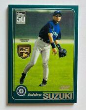 New listing 2020 Topps Series 1 Ichiro Suzuki Logo Medallion RC, Mariners Legendary Rookie!